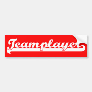 Teamplayer Bumper Stickers