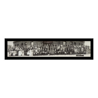 Teamsters Brotherhood Photo 1910 Poster