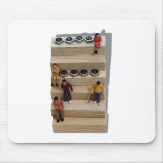 Teamwork041209shadows Mousepads