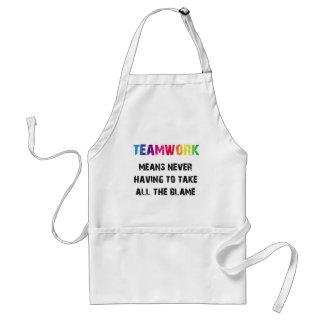 Teamwork Adult Apron