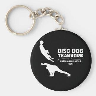 Teamwork Australian Cattle Dog Keychain