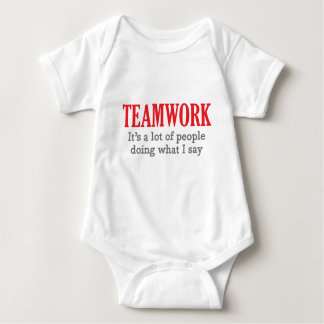 Teamwork Baby Bodysuit
