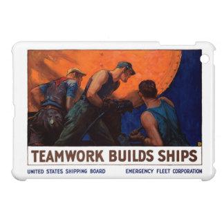 Teamwork Builds Ships iPad Mini Cases