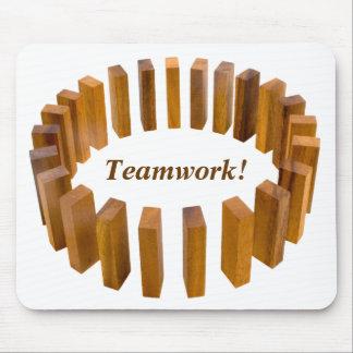 Teamwork Circle Mousepad