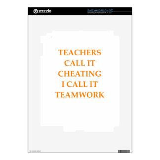 TEAMWORK DECAL FOR iPad 2
