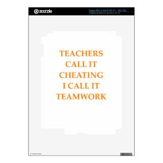 TEAMWORK DECALS FOR iPad 3