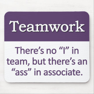 Teamwork Definition Mouse Pad