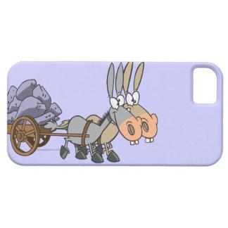 teamwork donkeys mules cartoon iPhone 5 cases