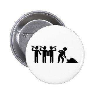 Teamwork drinking button