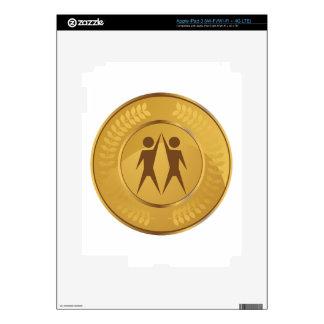 Teamwork Gold Medal iPad 3 Skins
