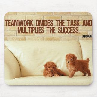 Teamwork Inspirational Mousepad