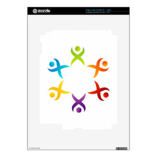 Teamwork iPad 2 Skins