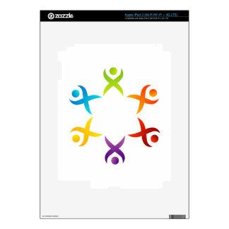 Teamwork iPad 3 Decal