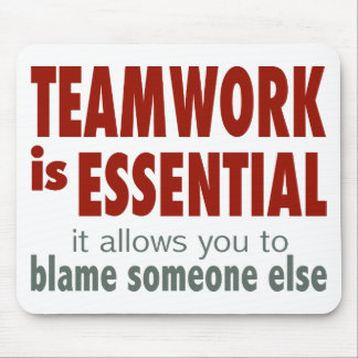 Teamwork is Essential Mouse Pad