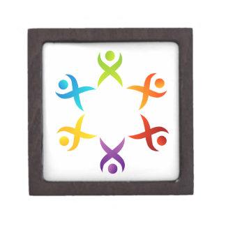 Teamwork Jewelry Box