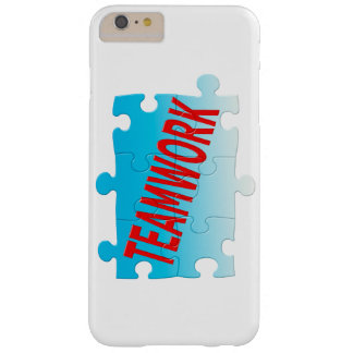 Teamwork Jigsaw Puzzle Barely There iPhone 6 Plus Case