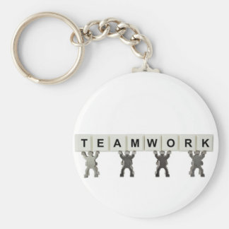 Teamwork Keychain