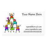 Teamwork Kids Double-Sided Standard Business Cards (Pack Of 100)
