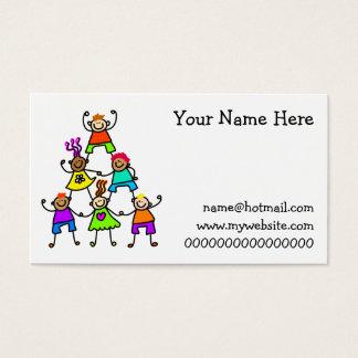 Teamwork Kids Business Card
