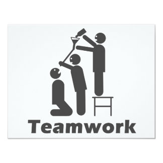 Teamwork - Motivational Merchandise Card