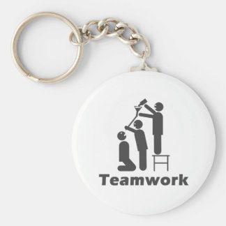 Teamwork - Motivational Merchandise Keychain