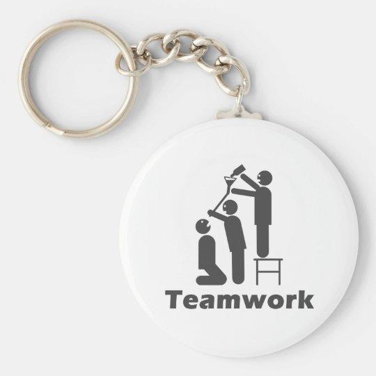 Teamwork - Motivational Merchandise Keychain
