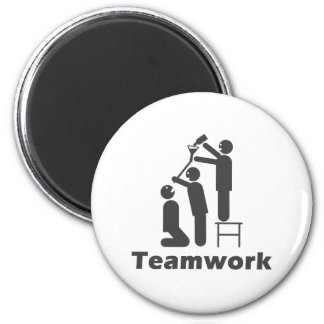 Teamwork - Motivational Merchandise Magnet