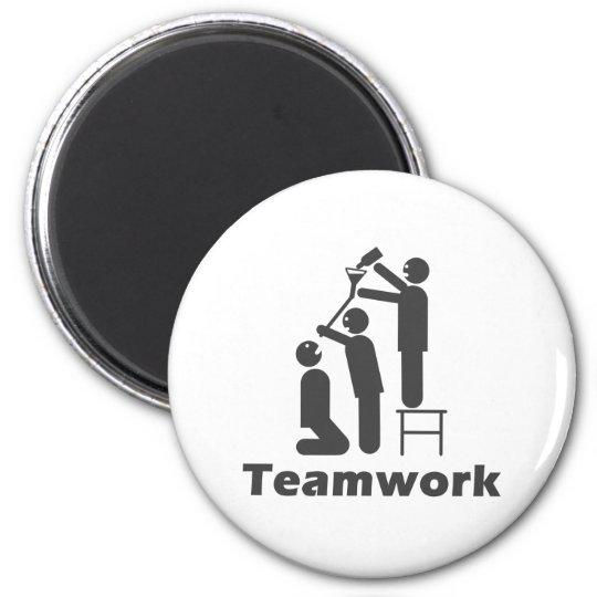 Teamwork - Motivational Merchandise Magnet