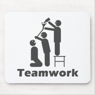Teamwork - Motivational Merchandise Mouse Pad