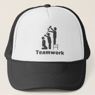 Teamwork - Motivational Merchandise Trucker Hat