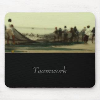 Teamwork Mouse pad