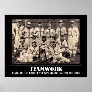 Teamwork... Poster
