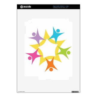 Teamwork Starburst Decals For The iPad 2