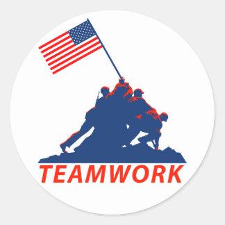Teamwork Sticker