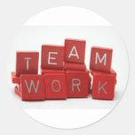 Teamwork stickers