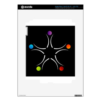 Teamwork support decal for iPad 3