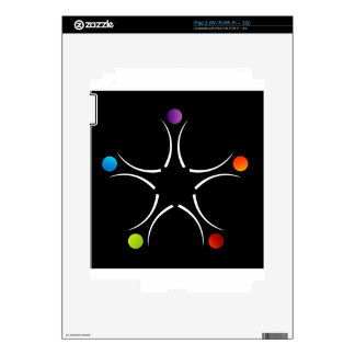Teamwork support skins for iPad 2
