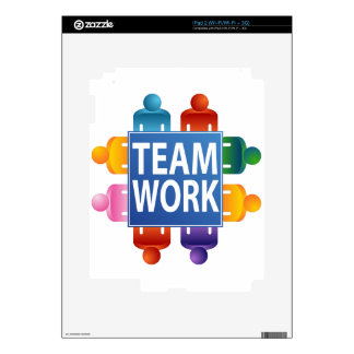 Teamwork Table iPad 2 Decal