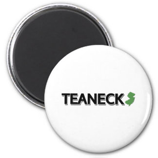 Teaneck, New Jersey 2 Inch Round Magnet