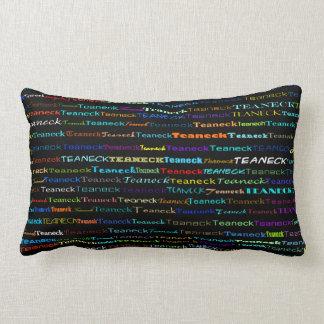 Teaneck Text Design I Lumbar Pillow