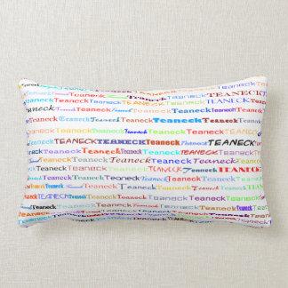 Teaneck Text Design II Lumbar Pillow