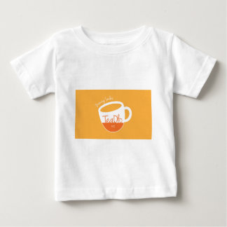 TeaOlo Brewing Smiles Orange Fit Infant T-shirt