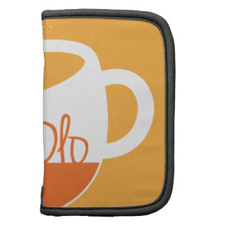TeaOlo Brewing Smiles Orange Fit Folio Planners