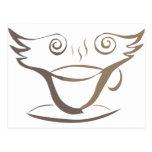 Teapapers Logo Postcard