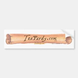 TeaPardy.com Pegatina Para Auto