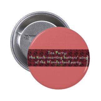 TeaPartyHatters Pin