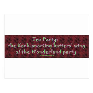 TeaPartyHatters Postcard