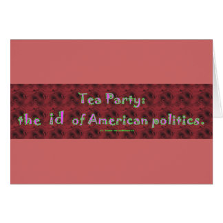 TeaPartyId Card