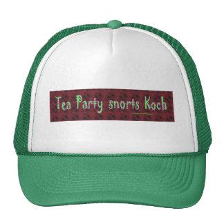 TeaPartySnortsKoch Trucker Hat
