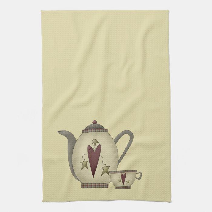 Teapot and Teacup Towel